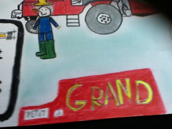 Concours dessin dans mon école!!!