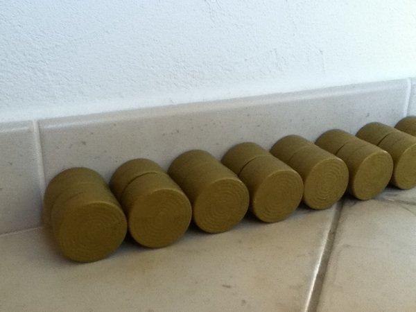 Ramassage des bottes 2012
