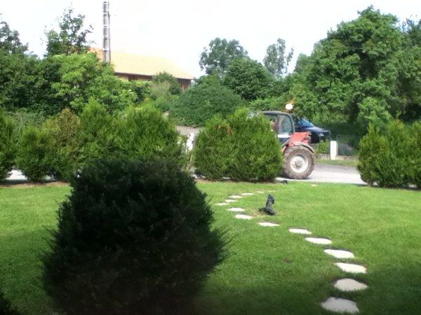 Chantiers agricoles derrière chez moi!
