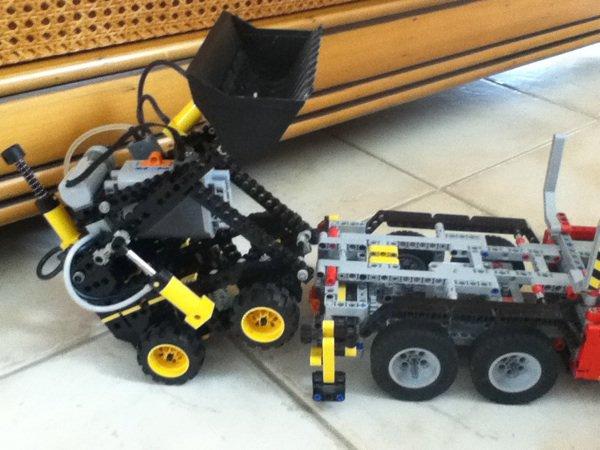 Diorama lego technic