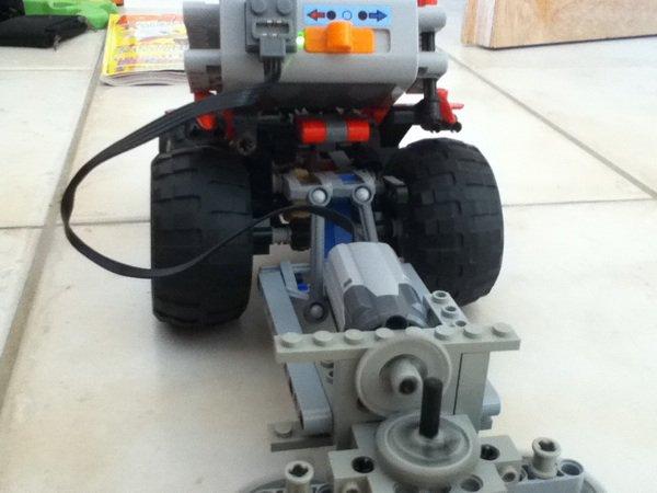 Ma faneuse lego Technic!