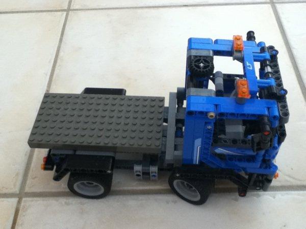 Modifs sur le camion conteneur!