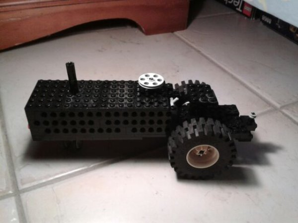Mon vieux tracteur!!!