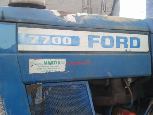 Ford 7700,faucheuse krone