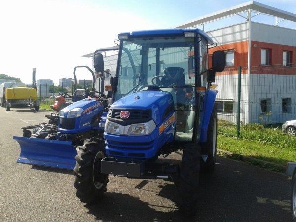 micro tracteur!