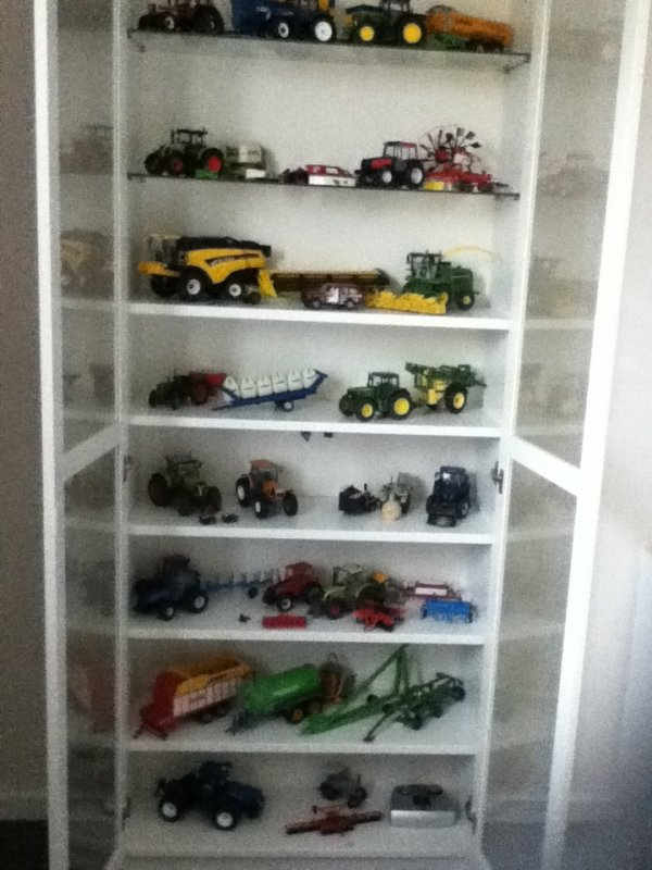 Ma collection en vitrine