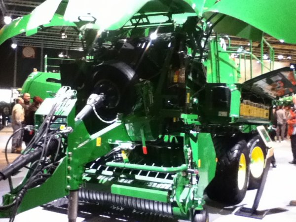 Enfin,le stand John deere