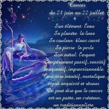 Monsieur Le Cancer Amour Fusionnel