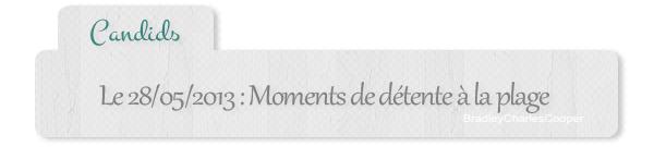 #Candids - 28 mai : détente au Brésil