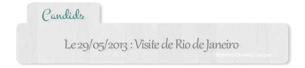 #Candids - 29.05 : ballade dans Rio