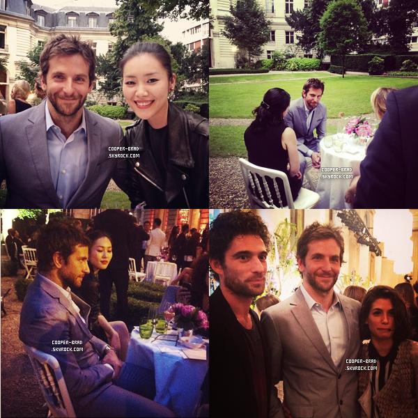 | Appearance - 02.07 : Bradley à la soirée de Bulgari.