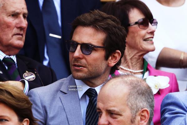 | Appearance - 07.07 : Bradley à Wimbledon