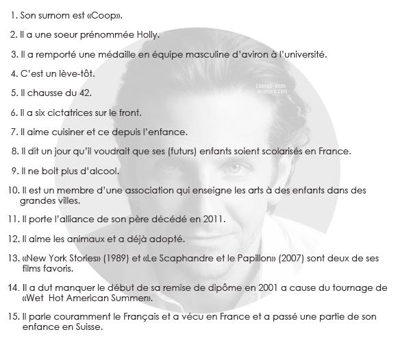 Article à thème n° : 15 facts sur Bradley