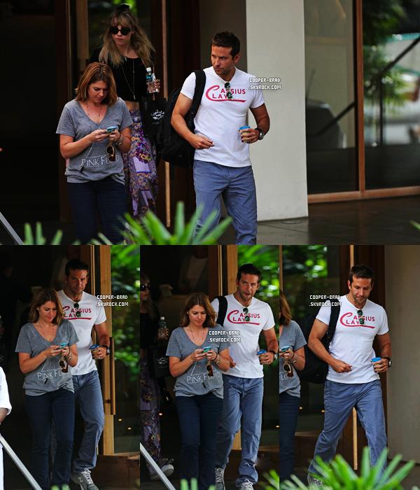 | Candids - 25.07 : Bradley et Suki arrivent à Hawaii