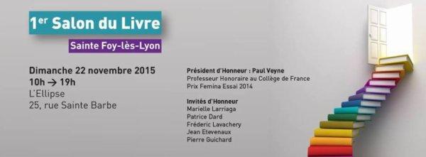 Salon de Sainte Foy-lès-Lyon - le 22 novembre 2015