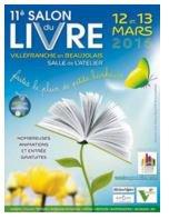 Retour sur les 2 jours du Salon du Livre de Villefranche-sur-Saône (12-13 mars 2016)