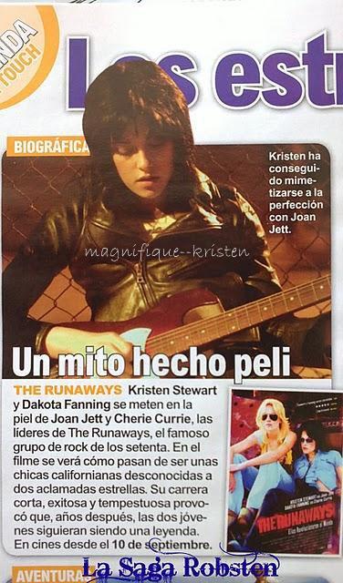Kristen dans le magasine Direct Soir + un scan du magasine In Touch (Espagne) Et le DVD de Twilight 3!