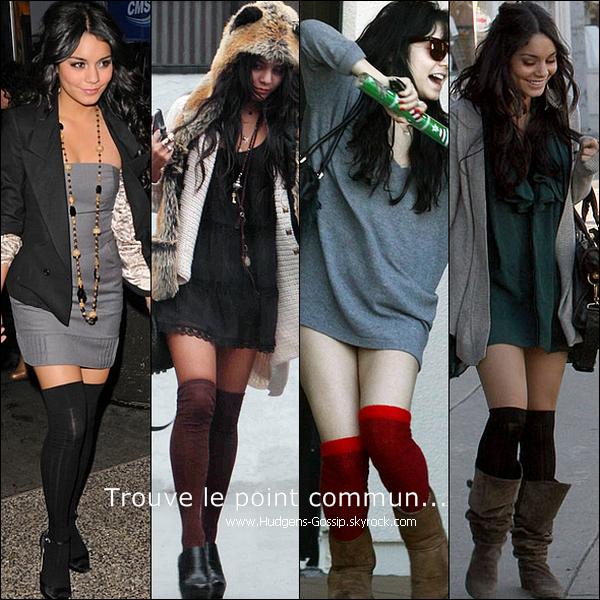 . 18.12.10 : Vanessa a été vue à Studio City sous la pluie portant sur la tête un chapeau..Ranard. Top ou Flop ?.