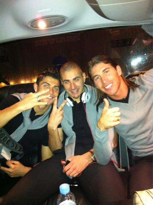 C.Ronaldo , Benzema , S.Ramos .