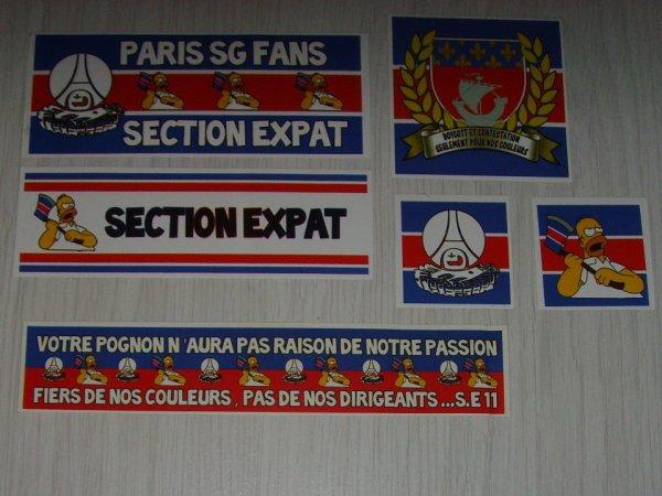 Stiks sexion expat PSG