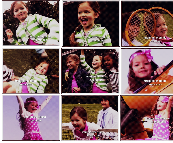 ______________15 octobre 2011. ___ARTICLE NEWS___ Une video de The children's place  __________________ vient de parraître where is  Kenzie?  BY MACKENZIEFOY-SOURCE.SKYROCK.COM.___8888__ _
