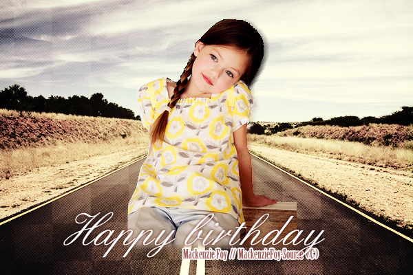 ______________10 Novembre 2011. ___ARTICLE IMPORTANT___ Today is gonna be HER day   __________________ HAPPY BIRTHDAY miss Mackenzie !  BY MACKENZIEFOY-SOURCE.SKYROCK.COM.___8888__ _