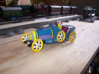 Collection de miniatures Bugatti (11).