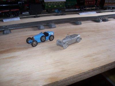 Collection de miniatures Bugatti (12).