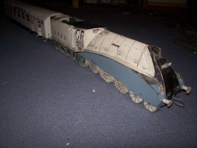 LNER Pacific A4 n°2509 Silver Link (2008/2009 - 12/13ans).