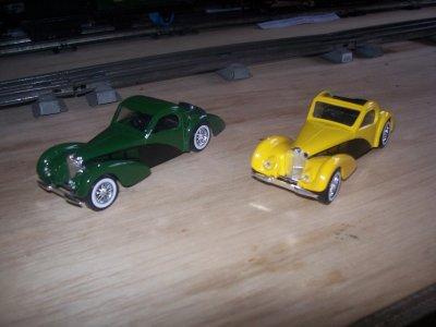 Collection de miniatures Bugatti (15).