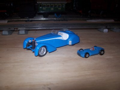 Collection de miniatures Bugatti (17).