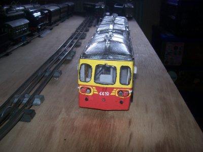 Autorail Série 4610 ex SNCB (2011 - 16 ans).