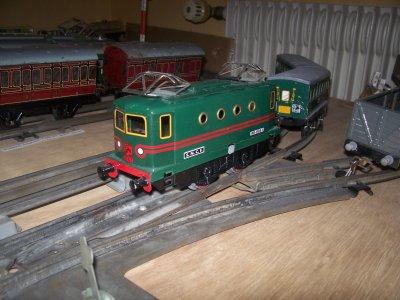 Les Trains-Jouets anciens à l'échelle 0 (1/43ème).