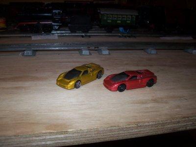 Collection de miniatures Bugatti (20).