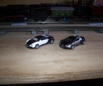 Collection de miniatures Bugatti (21).