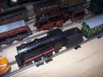 Les Locomotives Allemandes.