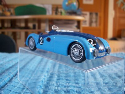 Collection de miniatures Bugatti (23).