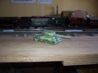 Tank Sherman M4 de la 2ème DB.