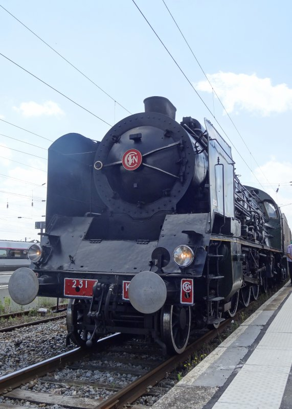 La 231 K 8 à Douai (1)