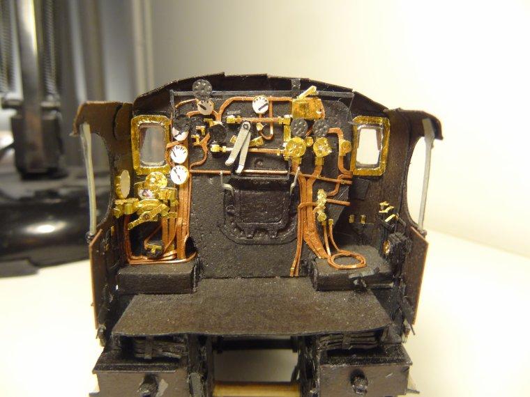 Super Pacific Nord 3.1280 (11) : La cabine de conduite