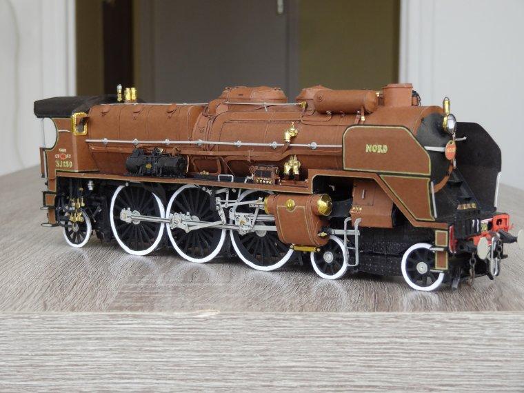 Super Pacific Nord 3.1280 (13) : Quelques vues générales de la locomotive