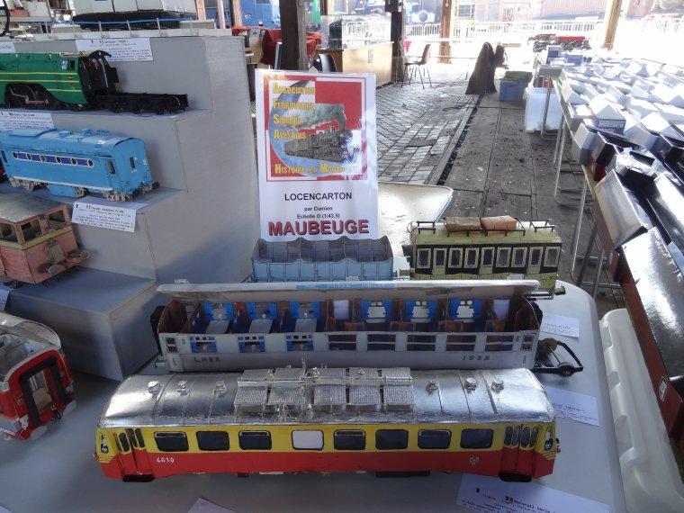 1er Salon du train miniature de l'AJECTA les 22 et 23 avril 2017 (3) : mon stand sous la rotonde