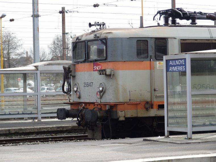 BB 25624 « la Danseuse » (1) : Construction d'une locomotive électrique