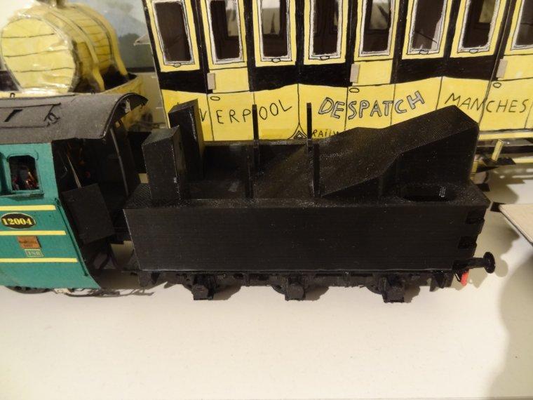 Atlantic Type 12.004 de la SNCB (12) : La caisse du tender