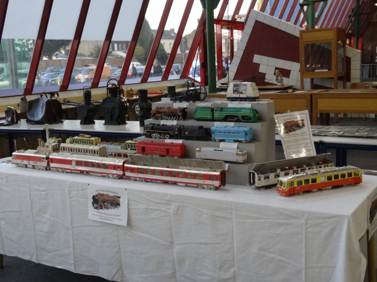"""Salon du Train 2017 à Maubeuge (1) : """"Les Trains de Damien"""""""