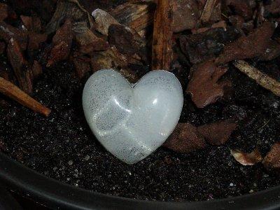 Bague coeur avec clef cachée (unique)