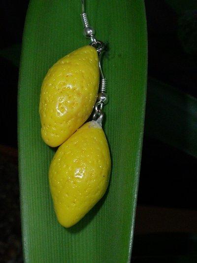Boucles citron