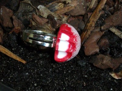 bague fraise  celebre
