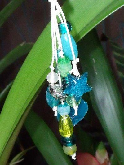 bijoux de sac fimo et perles