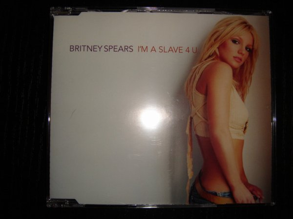 I M A Slave 4 U Single Britney Spears Cd Collection